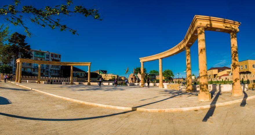 Парк культуры и боевой славы город Дербент