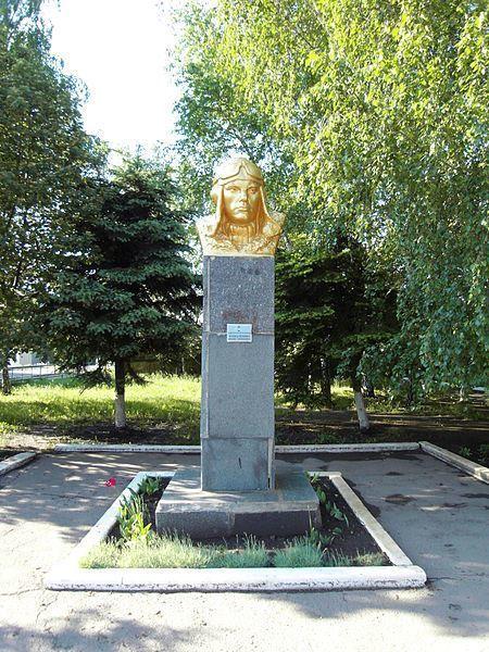 Смотреть лучшее фото памятник Тоболенко Михаилу Николаевичу город Дзержинск