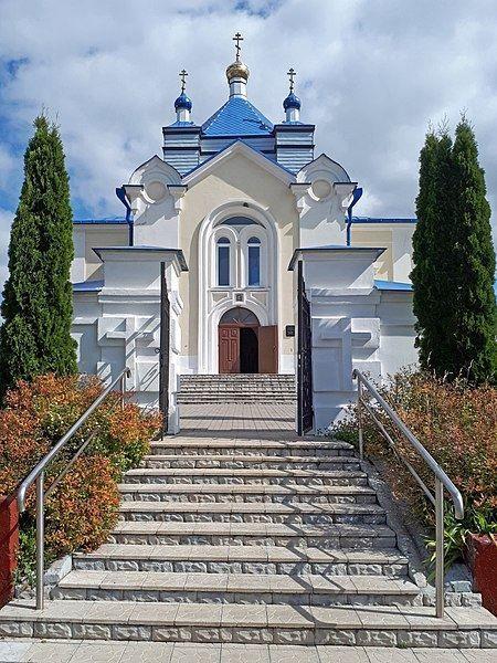 Храм Свято-Покровская церковь город Дзержинск