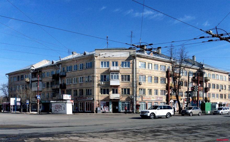 Смотреть красивое фото проспект Ленина в городе Дзержинск