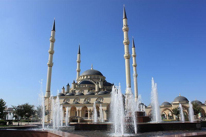 Смотреть лучшее фото города Грозный мечеть