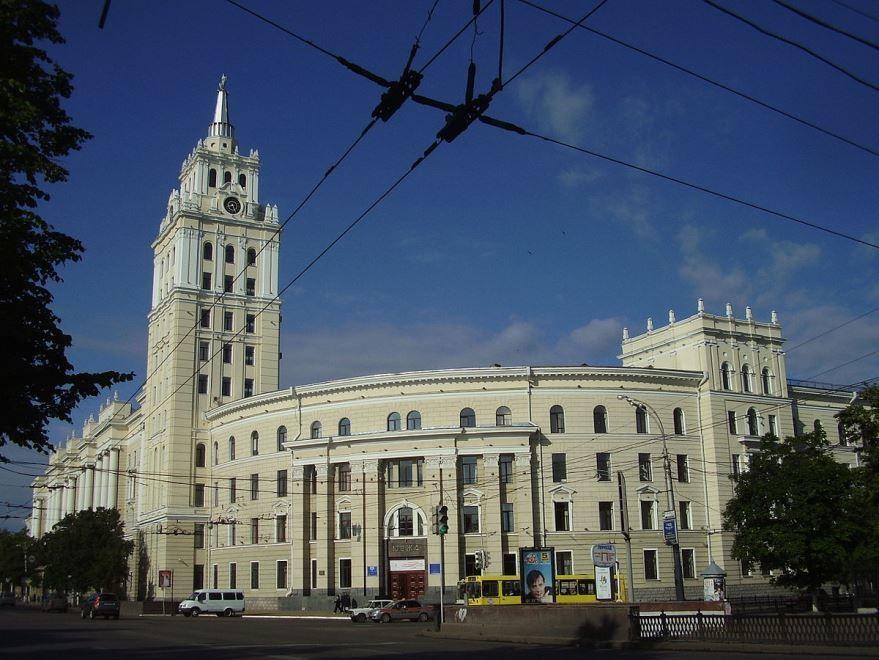 Смотреть красивый вид города Грязи в хорошем качестве