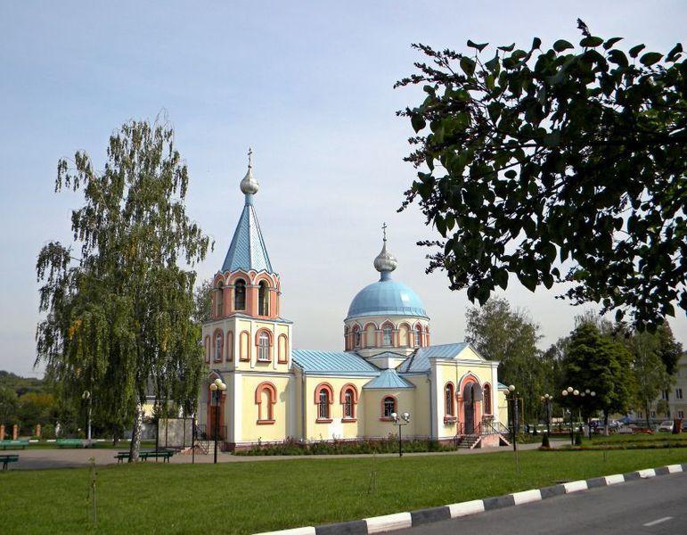 Церковь Апостола Иакова в городе Губкин