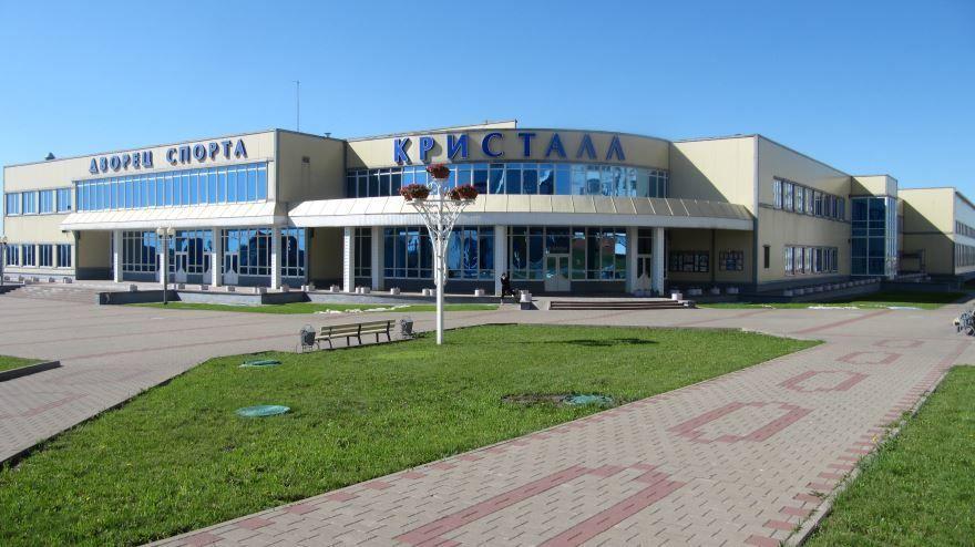 Дворец спорта Кристалл в городе Губкин