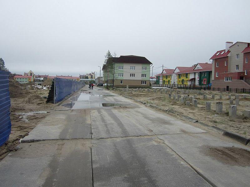 Смотреть лучшие улицы города Губкинский онлайн бесплатно