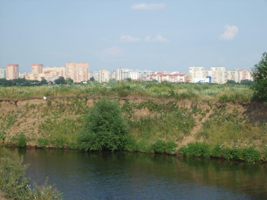 Река Печерка в городе Жуковский