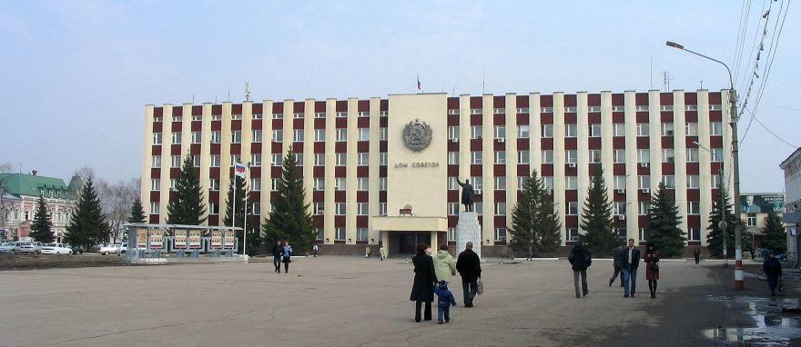 Смотреть красивое здание администрации города Димитровград