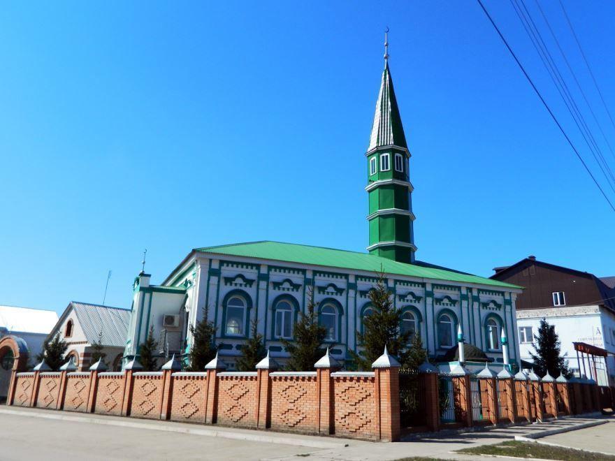 Смотреть лучшее фото мечеть в городе Димитровград