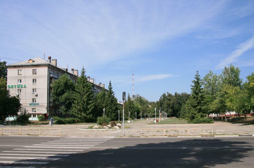 Смотреть красивую улицу города Димитровград в хорошем качестве