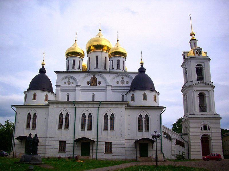 Успенский собор Дмитровского кремля в городе Дмитров