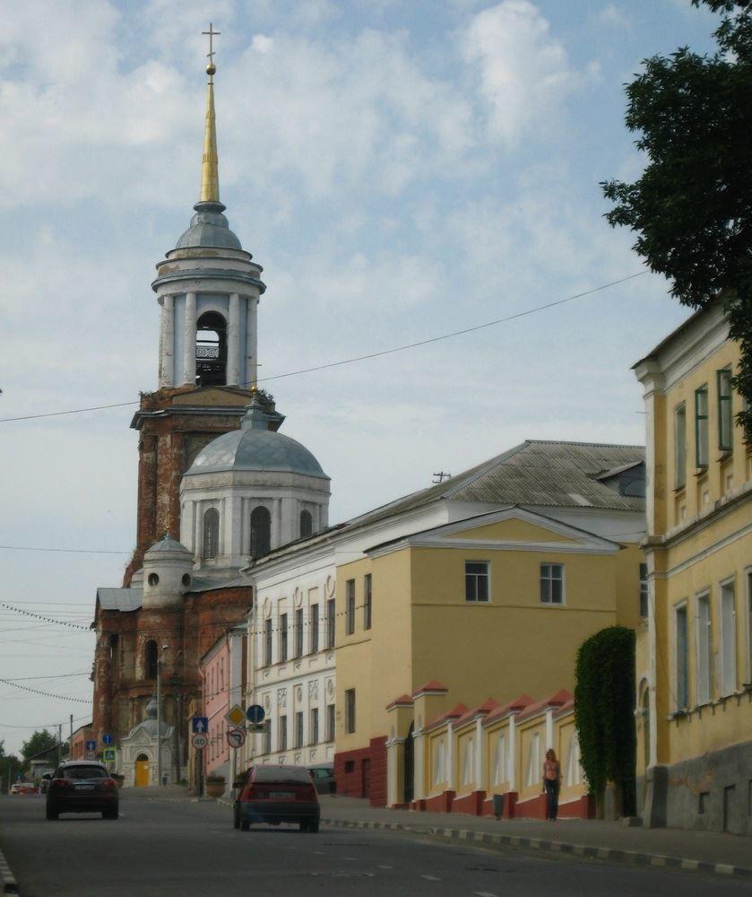 Скачать онлайн бесплатно красивую улицу города Елецка в хорошем качестве