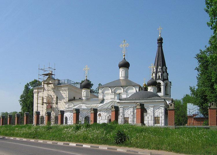 Церковь Спаса Нерукотворного в городе Долгопрудный