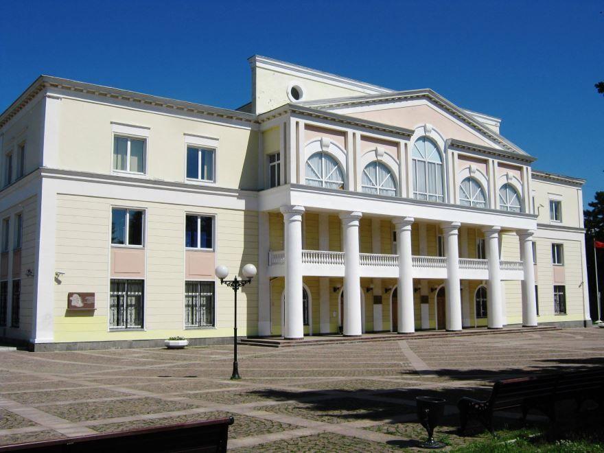 Скачать онлайн бесплатно красивое фото Дом культуры города Долгопрудный