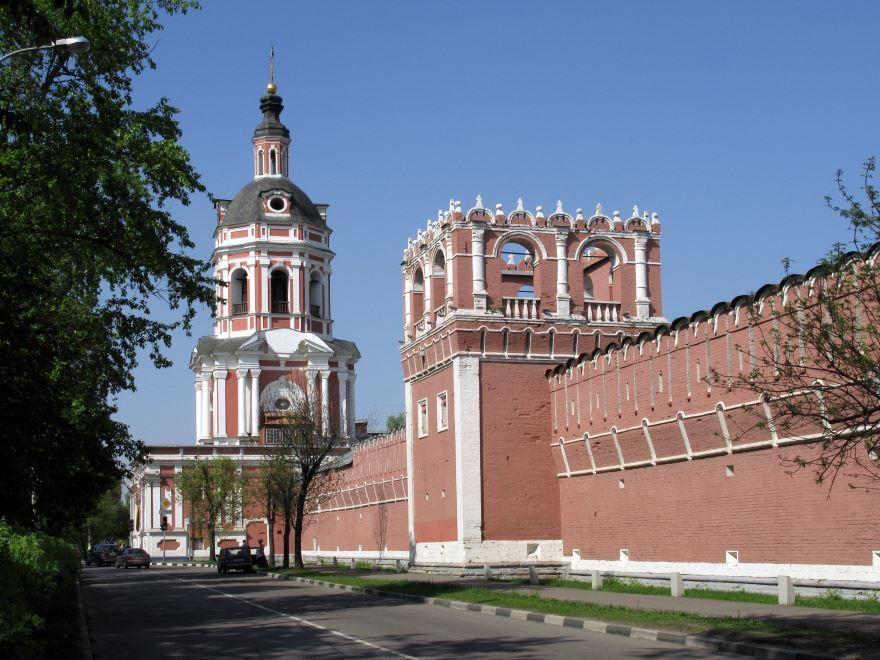 Смотреть красивое фото монастыря город Донской бесплатно