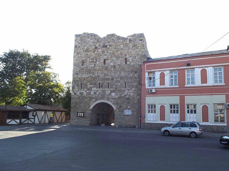 Ворота в старый город в городе Евпатория