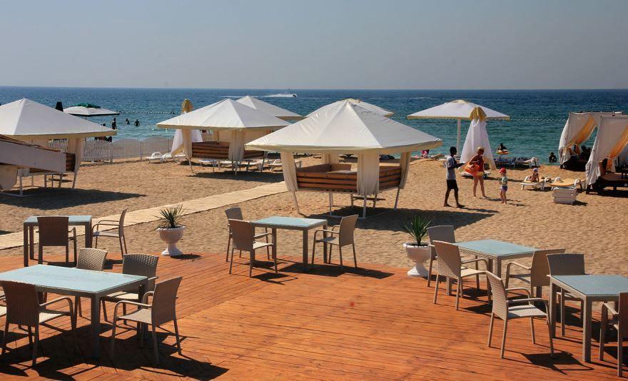 Скачать онлайн бесплатно лучшее фото пляжа в городе Евпатория