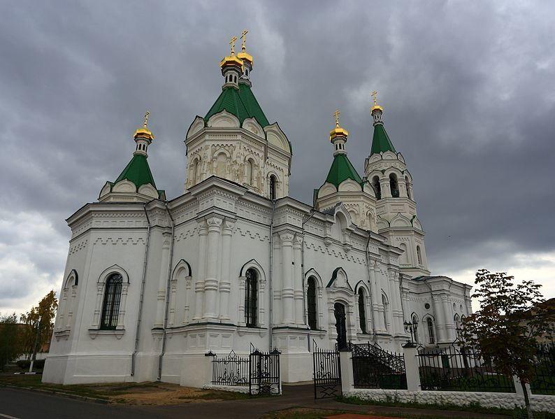 Собор Александра Невского город Егорьевск