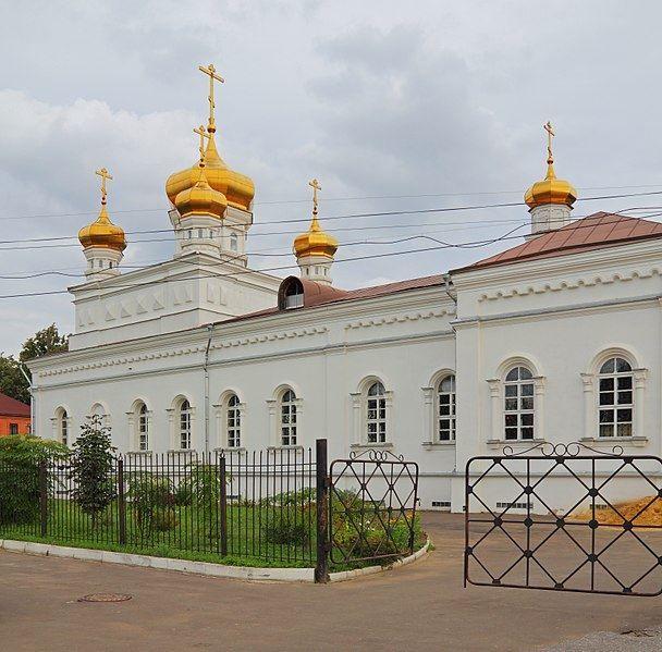 Старообрядческий храм Георгия Победоносца в городе Егорьевск