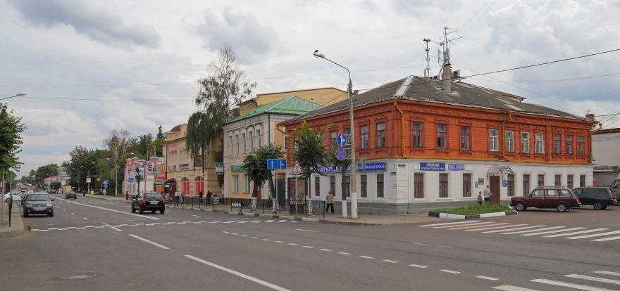 Смотреть красивую улицу города Егорьевск в хорошем качестве