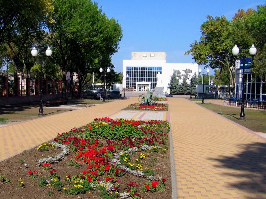 Городской Дворец культуры в городе Ейск