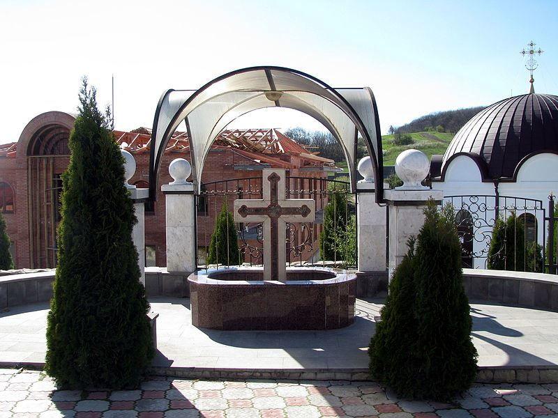 Свято-Георгиевский женский монастырь расположенный недалеко от города Ессентуки