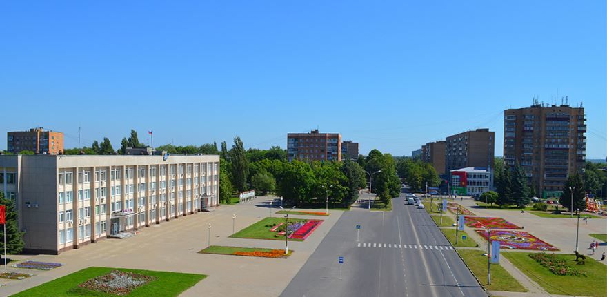 Смотреть красивый вид города Железногорск Красноярского края