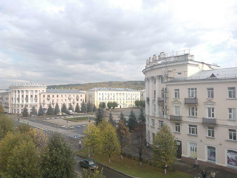 Скачать бесплатно красивый вид города Железногорск в хорошем качестве
