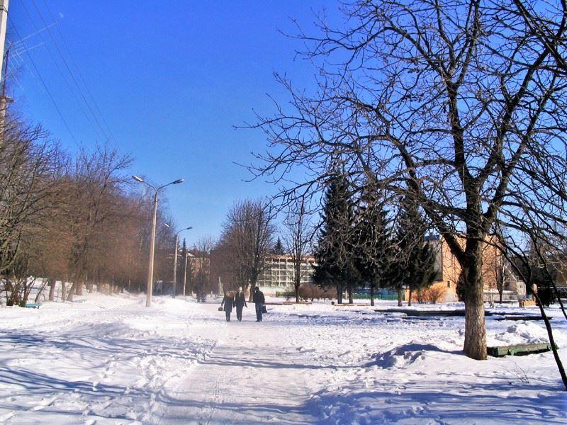 Смотреть красивое зимнее фото города Железногорск Курской области