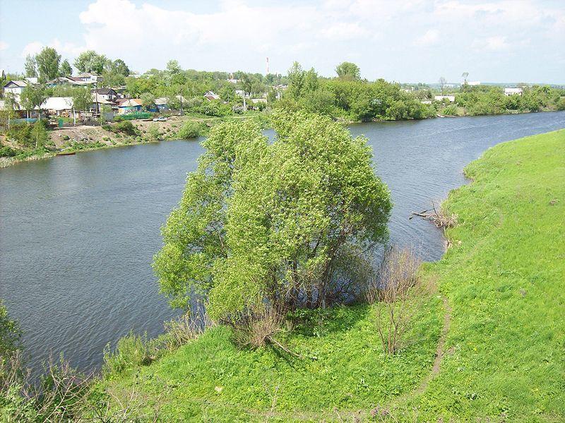 Смотреть лучшее фото реки Меча в городе Ефремов