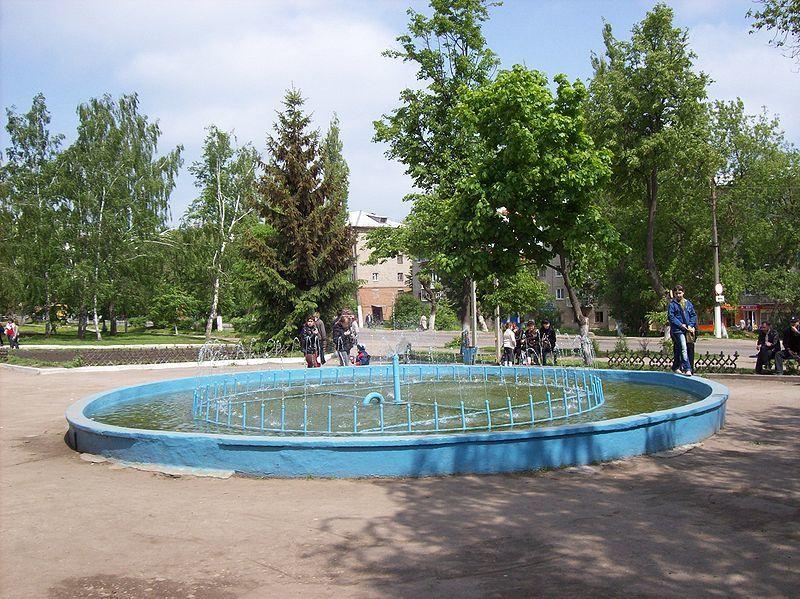 Смотреть красивое фото фонтан в городе Ефремов