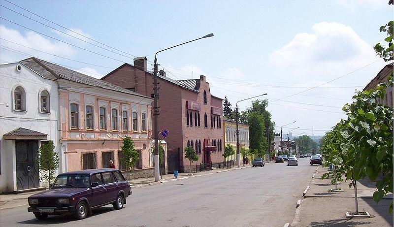 Скачать онлайн бесплатно лучшее фото улицы города Ефремов в хорошем качестве