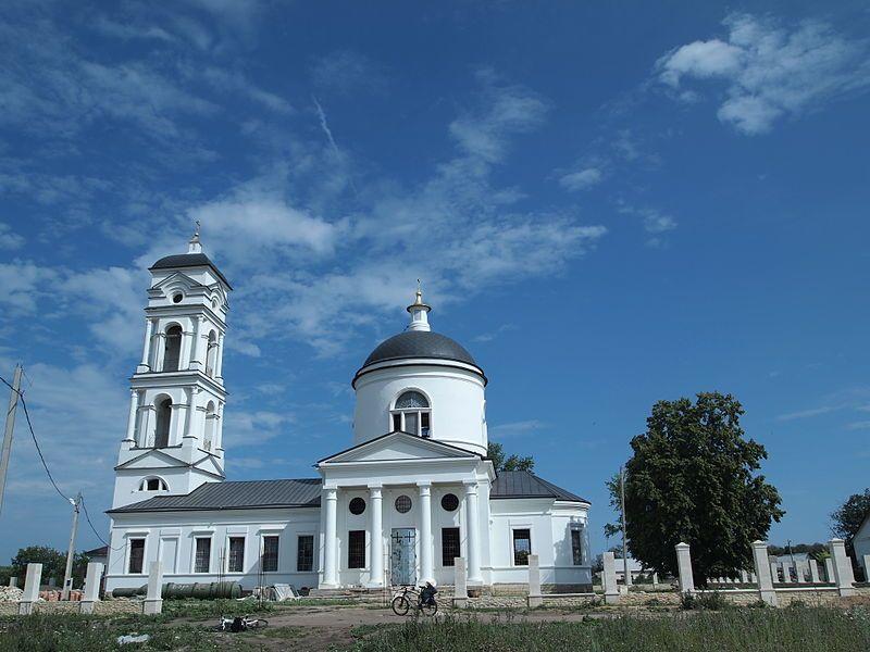 Смотреть лучшее фото Церковь Михаила Архангела в хорошем качестве город Задонск