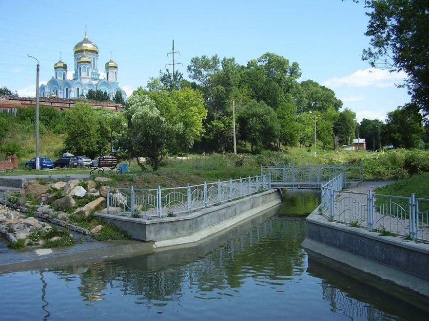 Смотреть лучшее фото река Тешевка в городе Задонск