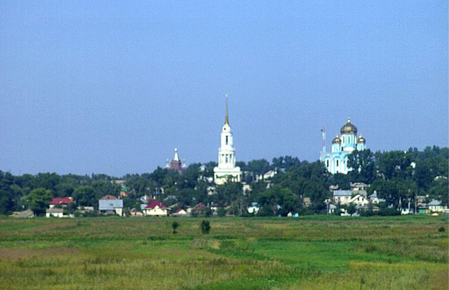 Скачать бесплатно лучшее фото города Задонск