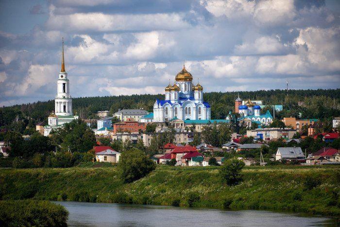 Задонский Рождество-Богородицкий мужской монастырь город Задонск
