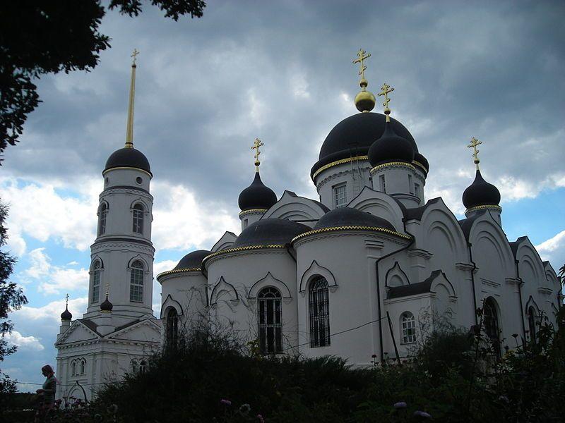 Задонский женский монастырь город Задонск