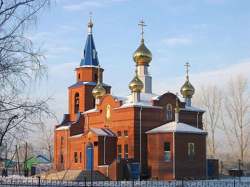 Свято-Георгиевский храм город Заводоуковск