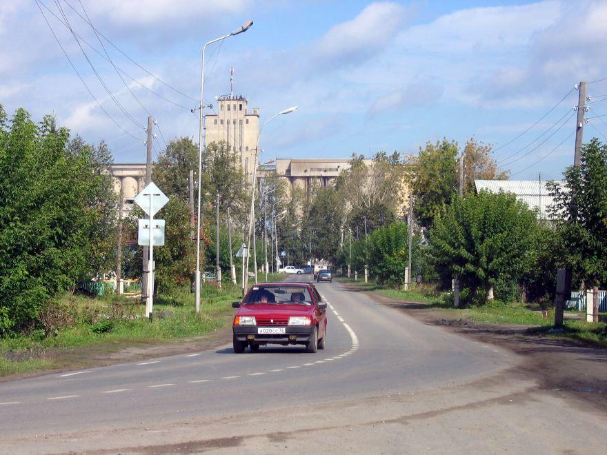 Смотреть красивый вид города Заводоуковск в хорошем качестве