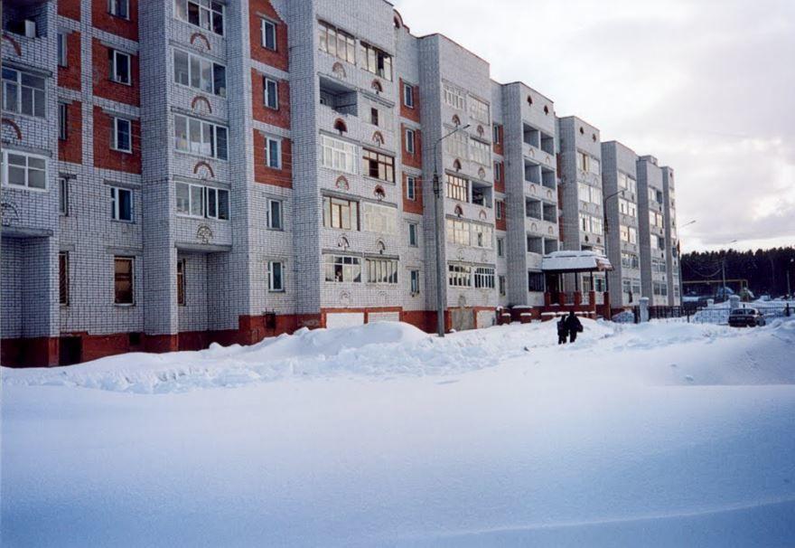 Смотреть красивое фото улица города Заволжье