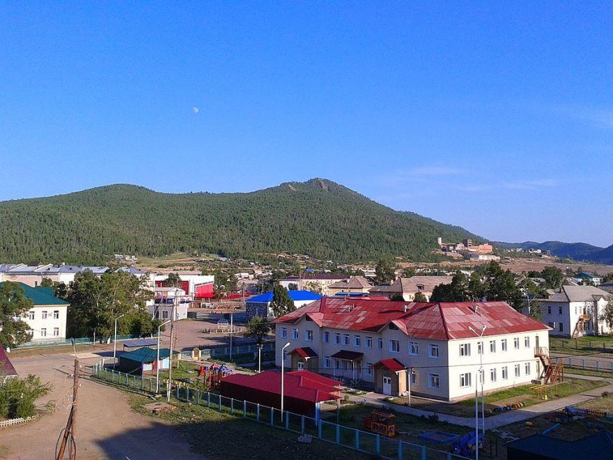 Смотреть лучшее фото вид города Закаменск в хорошем качестве