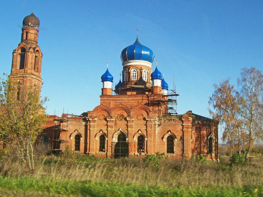 Церковь Благовещения в городе Зарайск