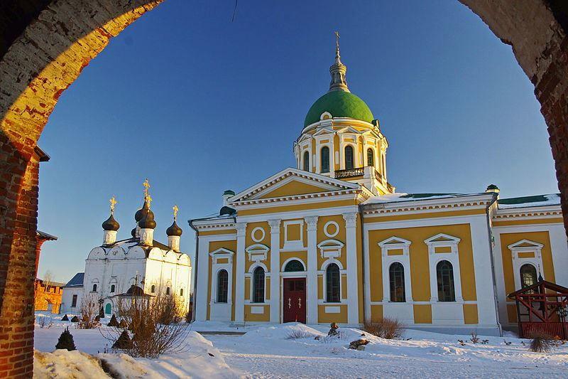Церковь Иоанна Предтечи в городе Зарайск