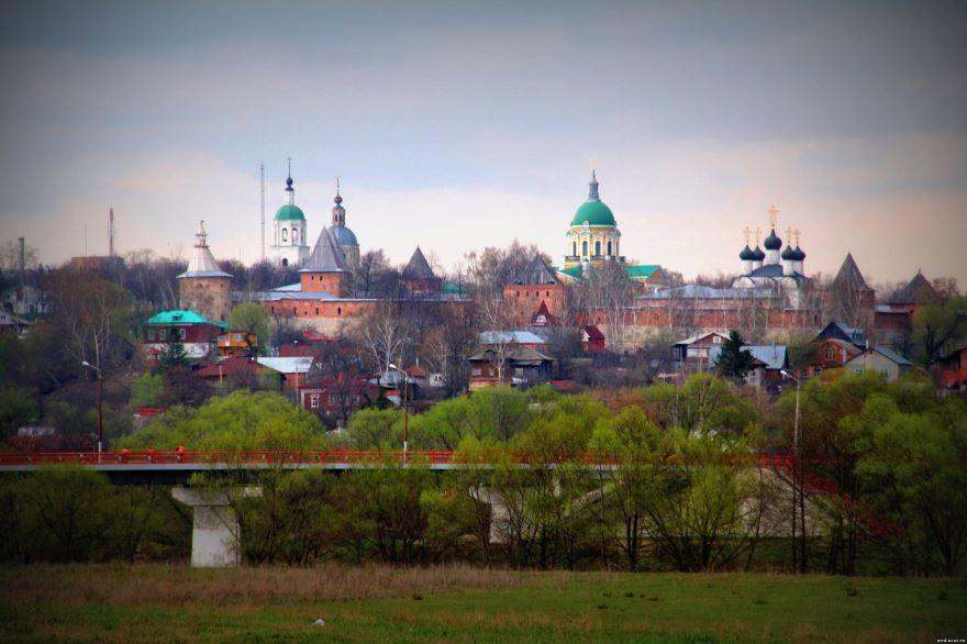 Скачать онлайн бесплатно красивый вид города Зарайск в хорошем качестве
