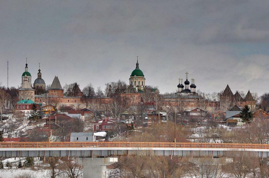Кремль города Зарайск в хорошем качестве