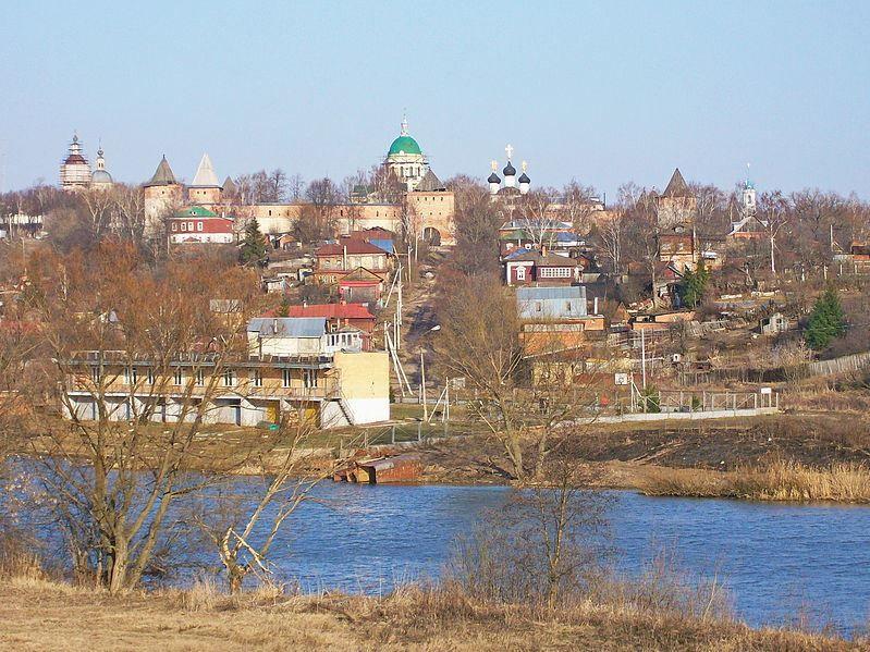 Смотреть красивое фото Зарайский Кремль в хорошем качестве