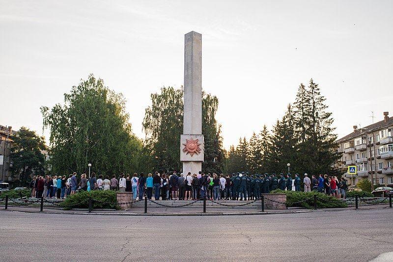Смотреть красивое фото День памяти и скорби в городе Заречный Свердловской области