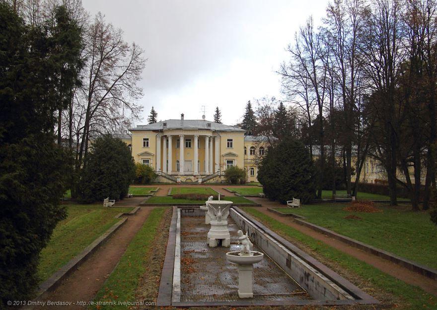 Усадьба Введенское в городе Звенигород Московская область