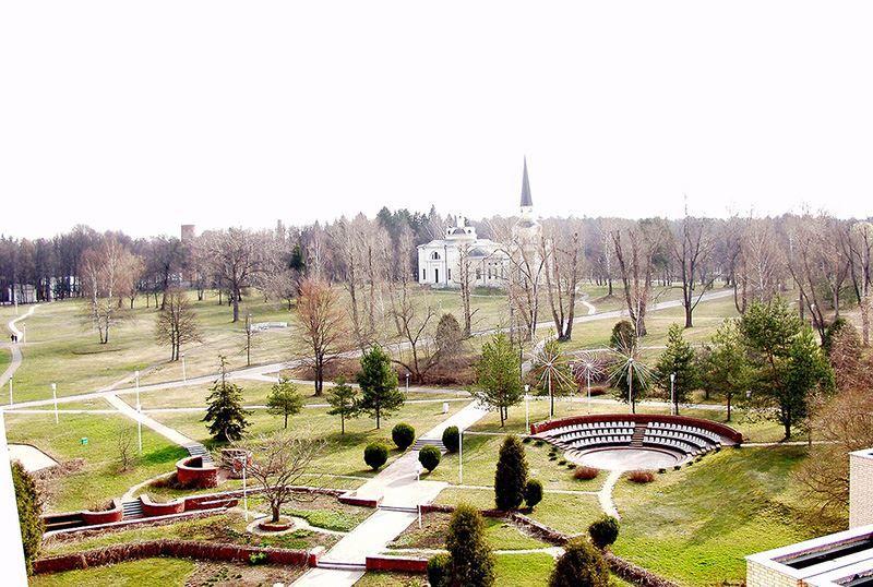 Смотреть лучшее фото города Звенигород Зеркало души Введенское