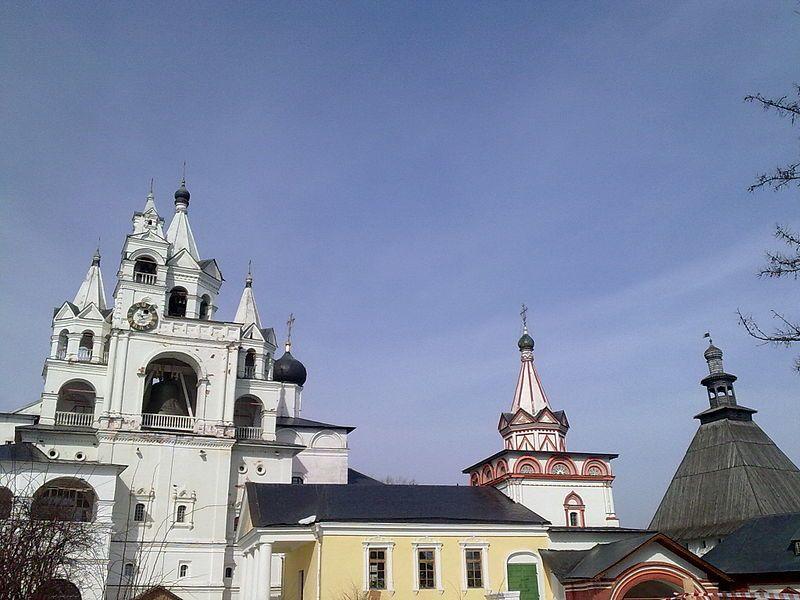 Смотреть красивое фото города Звенигород Московская область