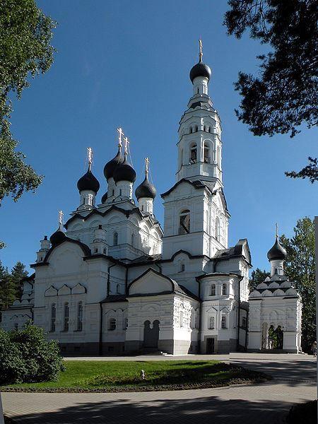 Казанская церковь в городе Зеленогорск